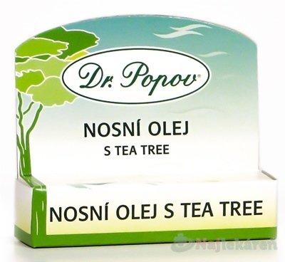 DR. POPOV NOSOVÝ OLEJ S TEA TREE