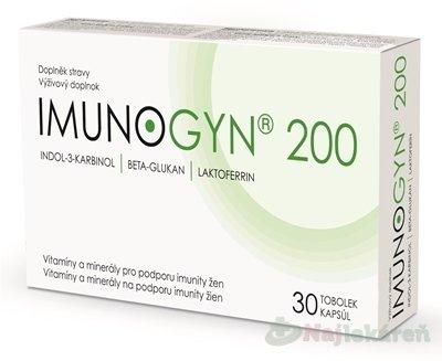 IMUNOGYN 200 30ks kapsúl - Imunogyn 200 30 tobolek
