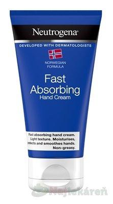 NEUTROGENA Rýchlo sa vstrebávajúci krém na ruky - Neutrogena Fast Absorbing krém na ruky 75 ml