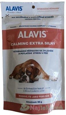 ALAVIS CALMING EXTRA SILNÝ - Alavis Calming Extra silný pre psy 96 g 30 tbl