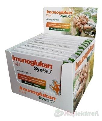 Imunoglukan P4H SynBIO Multipack - Imunoglukan P4H SYNBIO CPS 10X10KS, SET 10 x 10 kapsúl