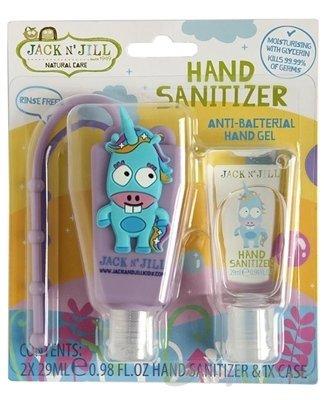 JACK N´JILL Antibakteriálny gél na ruky pre deti - Jack N´Jill Antibakteriálny gél na ruky pre deti Jednorožec 2 x 29 ml
