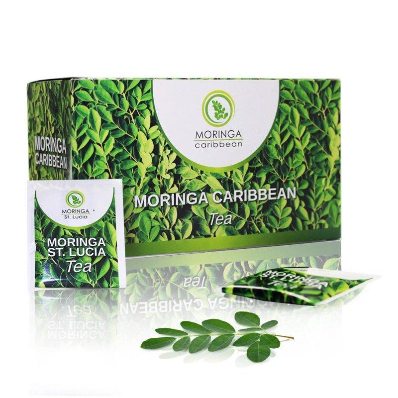 Moringa Caribbean Tea – porciovaný čaj 20x1,8 g - Moringa Caribbean Tea 20 nálevových sáčkov