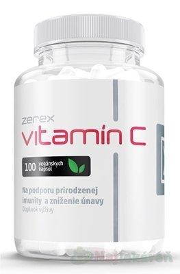 Zerex Vitamín C + šípka, 100 ks - Zerex Vitamín C 480mg 100 kapsúl