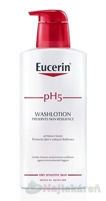 Eucerin pH5 Sprchová emulzia 400ml - Eucerin pH5 sprchová emulzia pre citlivú pokožku 400 ml
