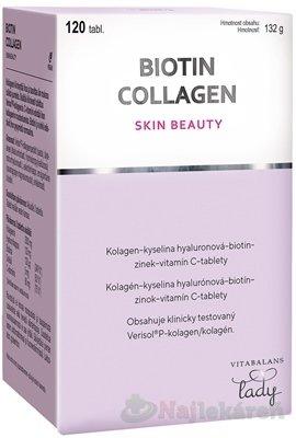Vitabalans BIOTIN COLLAGEN 120ks