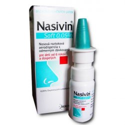 Nasivin Soft 0,05 % 10 ml