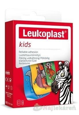 LEUKOPLAST KIDS Náplasť na rany pre deti, 2 veľkosti 12ks