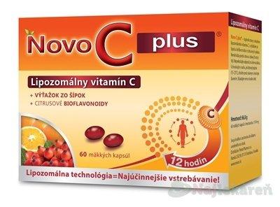 NOVO C PLUS Lipozomálny vitamín C, 60ks