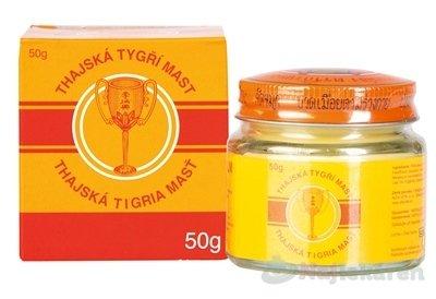 Thajská tigria masť GOLDEN CUP BALM, 50g