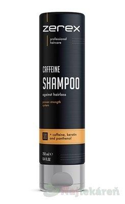 Zerex Kofeínový šampón, 250ml