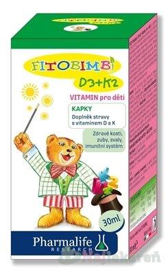 Pharmalife Vitamín D3 + K2 pre deti, 30ml