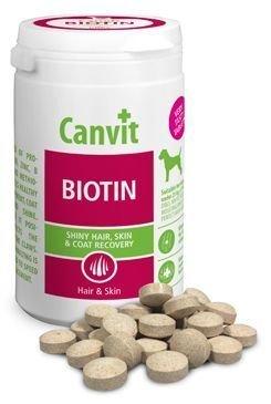 Canvit Biotin pre psov na srsť a pokožku 230g