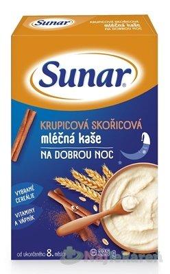 Sunar KRUPICOVÁ ŠKORICOVÁ mliečna kaša DOBRÚ NOC 225g