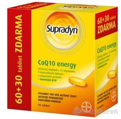 Supradyn CoQ10 Energy, 60+30 zdarma (90 ks)