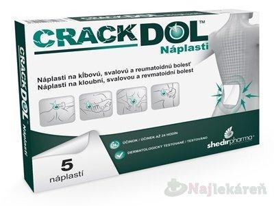 CRACKDOL Náplasti