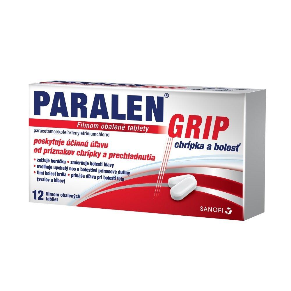 PARALEN GRIP chrípka a bolesť 24tbl - Paralen Grip chrípka a bolesť tbl.flm.1 x 24