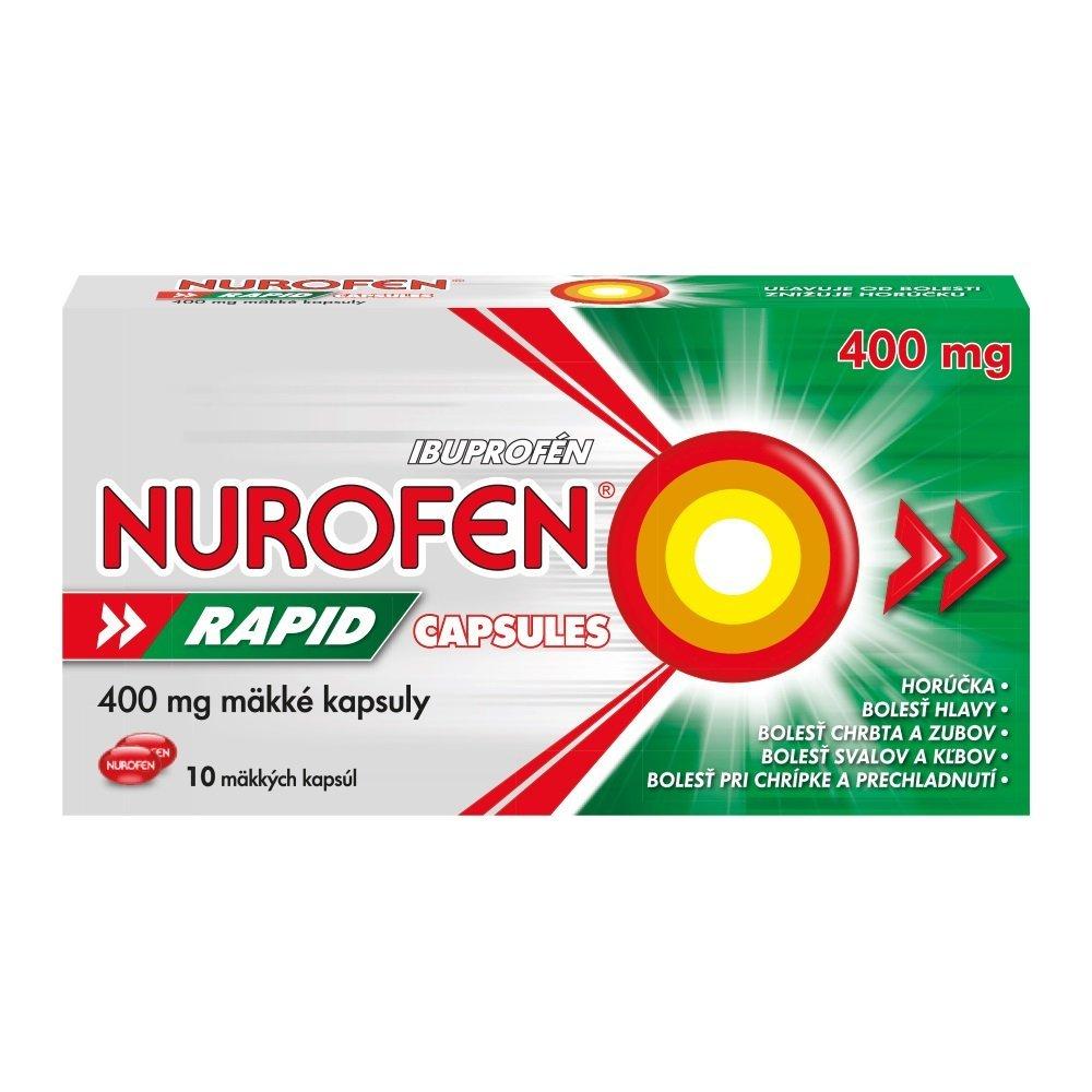 Nurofen Rapid 400mg proti bolesti 10cps
