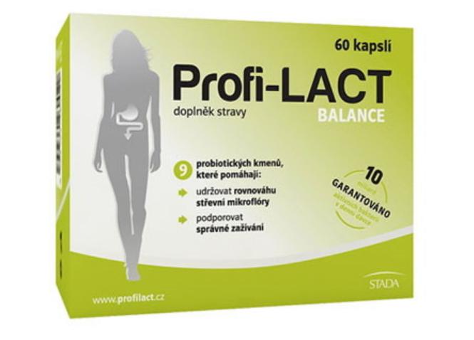 Profi-LACT balance 60 cps. - Stada Profi Lact Balance 60 kapsúl