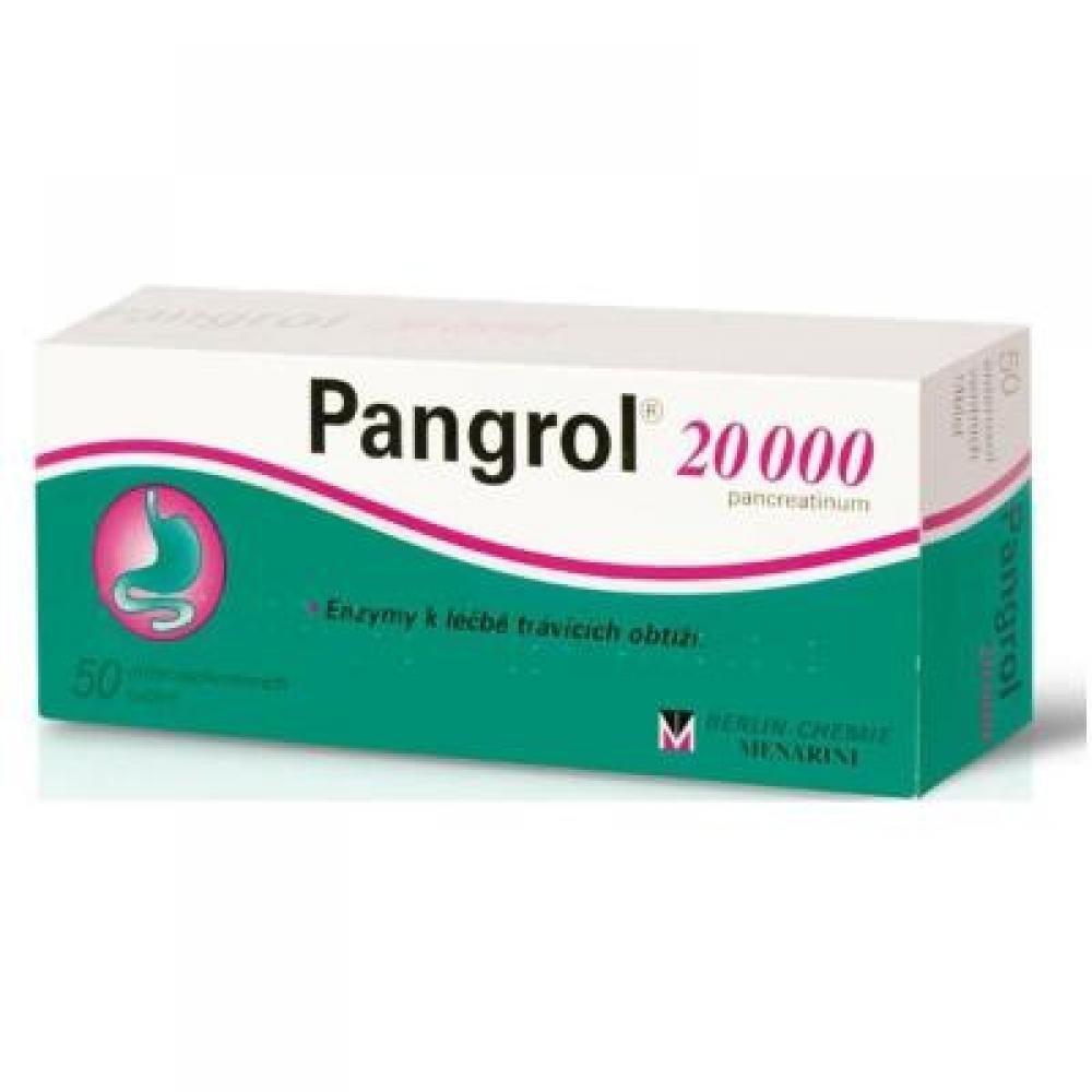 Pangrol 20000 tbl.ent.50 x 20000