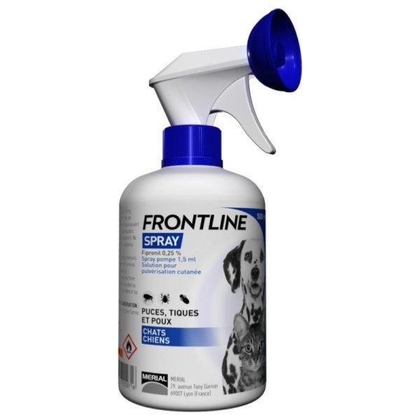 Frontline antiparazitný sprej pre psy a mačky 250ml