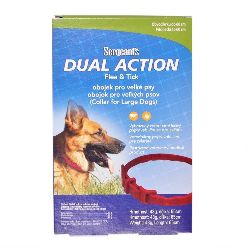 Sergeant´s Dual Action obojok pre veľké psy 65cm