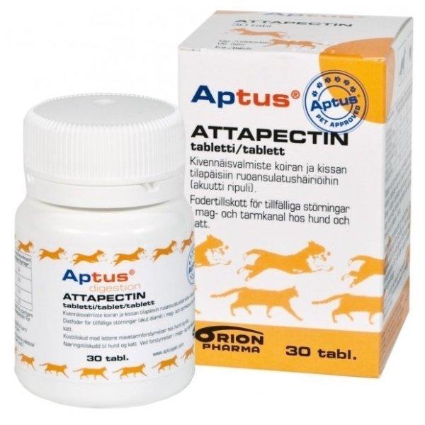 Attapectin na žalúdočnú nevoľnosť pre psy a mačky 30tbl