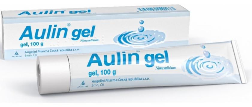 Aulin 30 mg/g gél 100 g, na úľavu od bolesti a opuchov