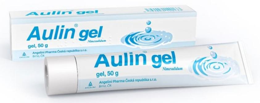 Aulin 30 mg/g gél, na úľavu od bolesti a opuchov, 50 g - Aulin 30 mg/g gél 1x 50 g