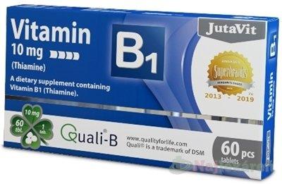 JutaVit Vitamín B1 10 mg - JutaVit Vitamín B1 10 mg tbl 60 ks