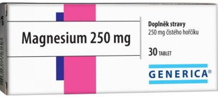 Generica Magnesium 250mg 30tbl