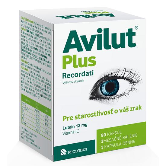 AVILUT Plus Recordati 90ks - Avilut Plus Recordati 90 kapsúl