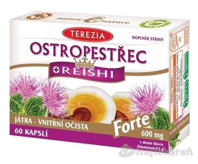 TEREZIA PESTREC + REISHI Forte, 60ks
