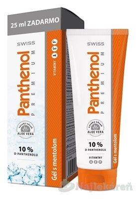 SWISS Panthenol PREMIUM Gél s mentolom, 125ml