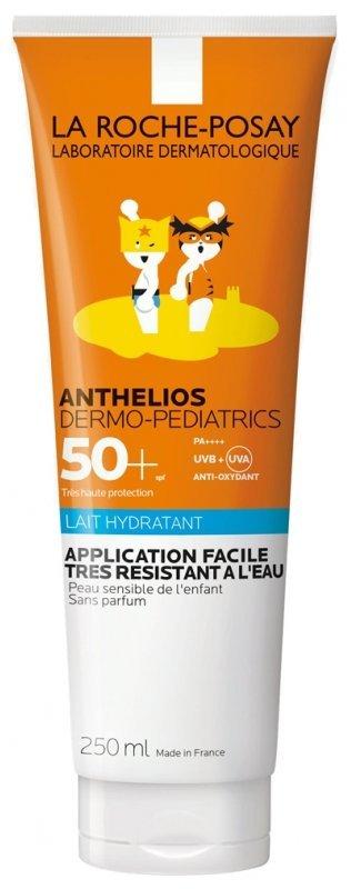 LA ROCHE-POSAY ANTHELIOS Derm.ped. Milk 50+ opaľovacie mlieko 250 ml - La Roche Posay Dermo-Pediatrics Lotion detské mlieko na opaľovanie Anthelios SPF50+ 250 ml