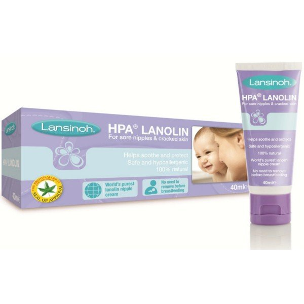 Lansinoh HPA krém na popraskané bradavky s lanolínem 10 ml
