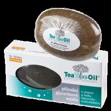 Dr. Müller Tea Tree Oil MYDLO 90g - Dr. Müller Tea Tree Oil mydlo s lístkami čajovníka 100 g