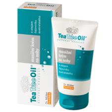 Dr. Müller Tea Tree Oil MASÁŽNY KRÉM NA NOHY 150ml - Dr. Müller Tea Tree Oil masažny krem na nohy 150 ml