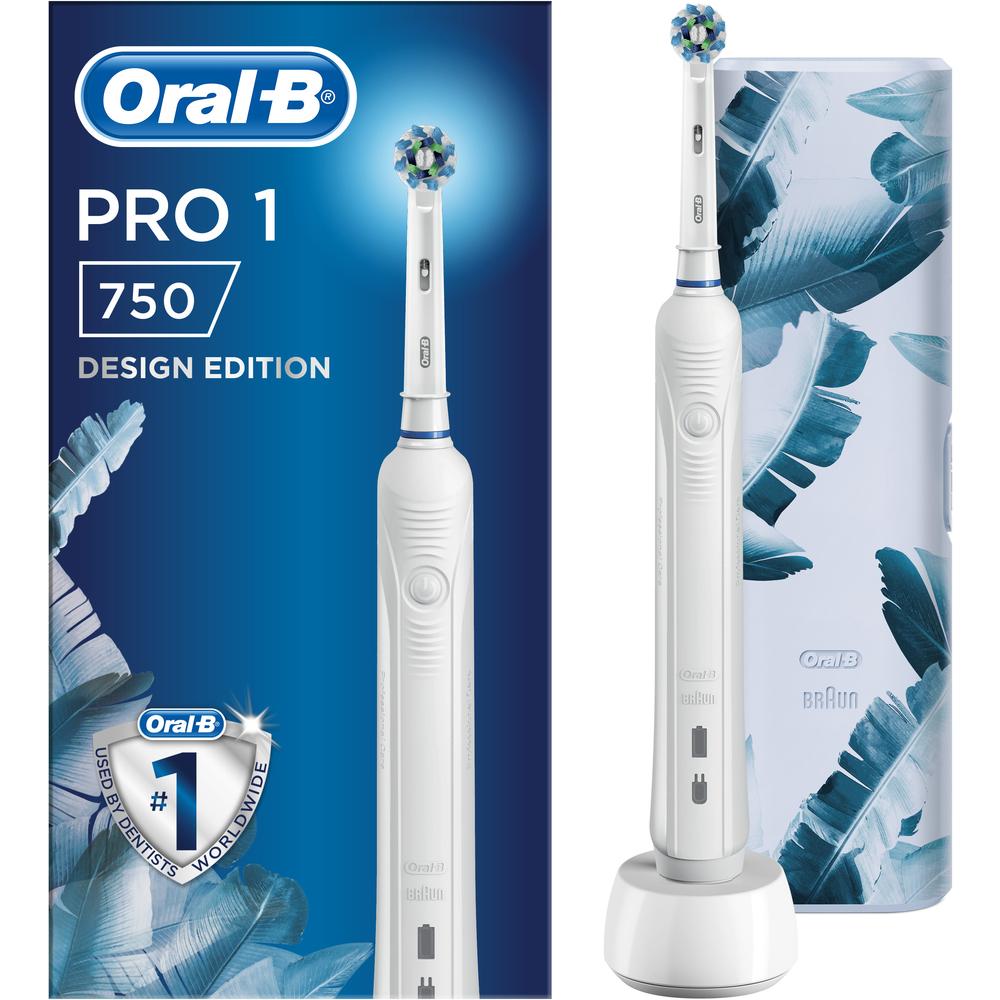 PRO 750 C.ACT. zubná kefka biela ORAL-B