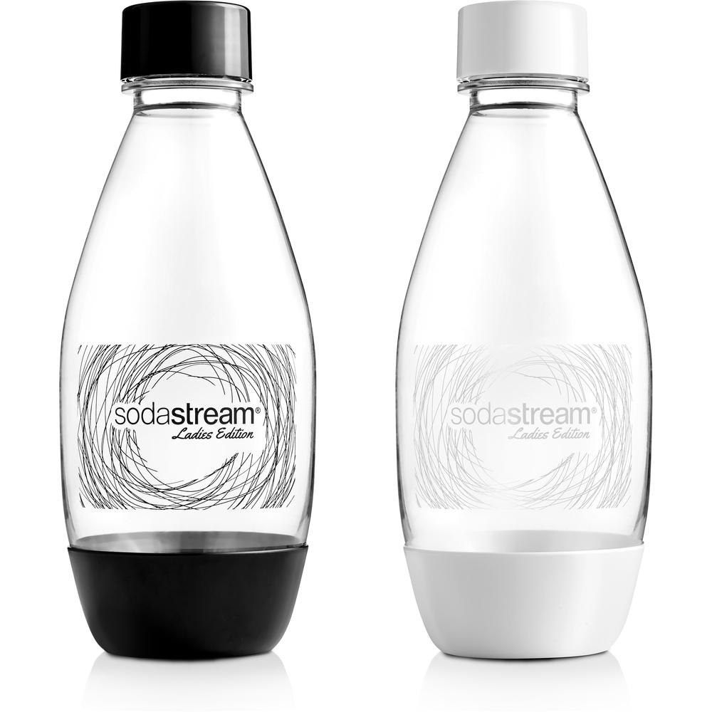Fľaša DÁMSKA 0.5l / B&W LADIES EDITION - Sodastream flaša B&W Grass LE 2 x 500 ml