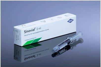 Sinovial ONE 2%, na kĺby, 2,5 ml - Ibsa Farmaceutici Italia SRL, Lodi Sinovial ONE 2,5 ml