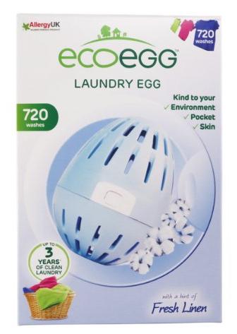 Ecoegg pracie vajíčko 720 praní, vôňa sviežej bavlny