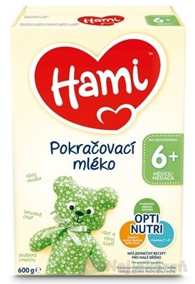 Hami následné mlieko - Hami 6+ Na dobrou noc 600 g
