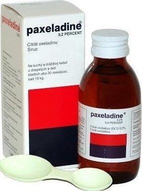 Paxeladine 0,2 Percent sirup sir.1x125ml