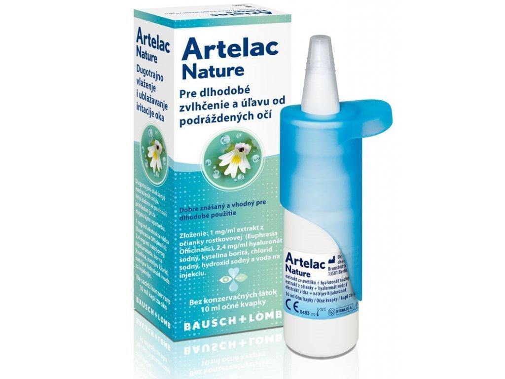 Artelac Nature očné kvapky 10ml