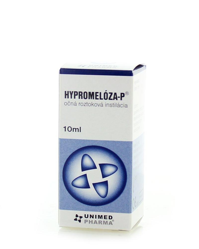 HYPROMELOZA-P roztok na očnú instiláciu 10ml - Unimed Hypromeloza P očné kvapky 10 ml