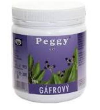 Peggy gél gáfrový 500 g