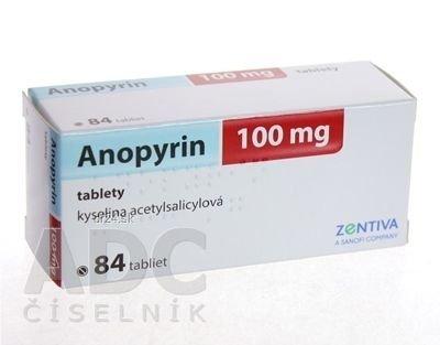 Anopyrin 100 mg 84 tbl