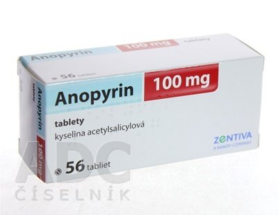 Anopyrin 100mg 56tbl