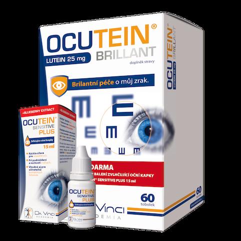 Simply You Ocutein Brillant Lutein 25 mg DaVinci 60 kapsúl + kvapky